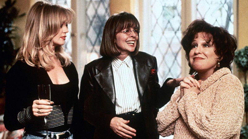 Bette Midler, Goldie Hawn, Diane Keaton ve filmu Klub odložených žen / The First Wives Club