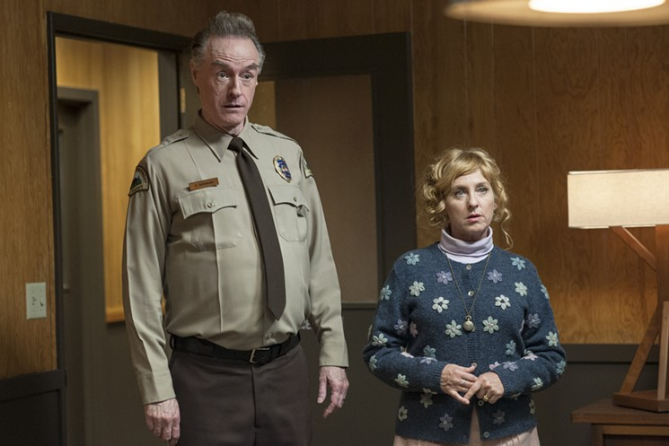 Kimmy Robertson, Harry Goaz ve filmu Městečko Twin Peaks - The Return / Twin Peaks