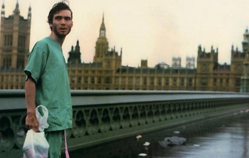 Cillian Murphy ve filmu 28 dní poté / 28 Days Later...