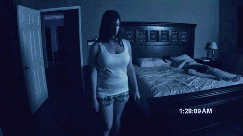 Katie Featherston, Micah Sloat ve filmu  / Paranormal Activity