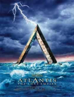 Plakát filmu Atlantida: Tajemná říše / Atlantis: The Lost Empire