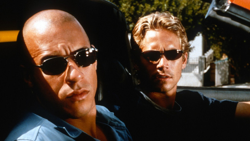 Paul Walker, Vin Diesel ve filmu Rychle a zběsile / The Fast and the Furious