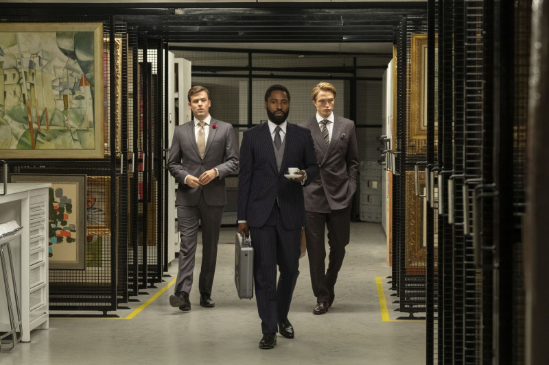 John David Washington, Robert Pattinson ve filmu Tenet / Tenet