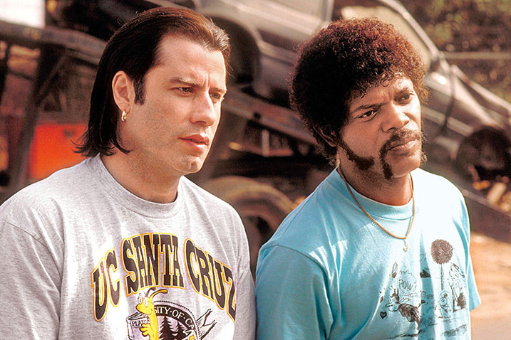 John Travolta, Samuel L. Jackson ve filmu Pulp Fiction: Historky z podsvětí / Pulp Fiction