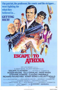 Plakát filmu Útěk do Atén / Escape to Athena