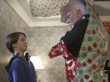 Christian Martyn, Malcolm McDowell ve filmu  / Home Alone: The Holiday Heist