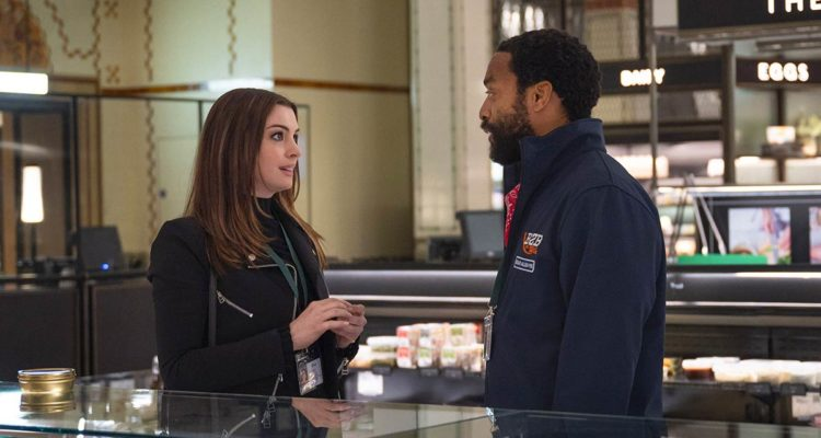 Anne Hathaway, Chiwetel Ejiofor ve filmu  / Locked Down