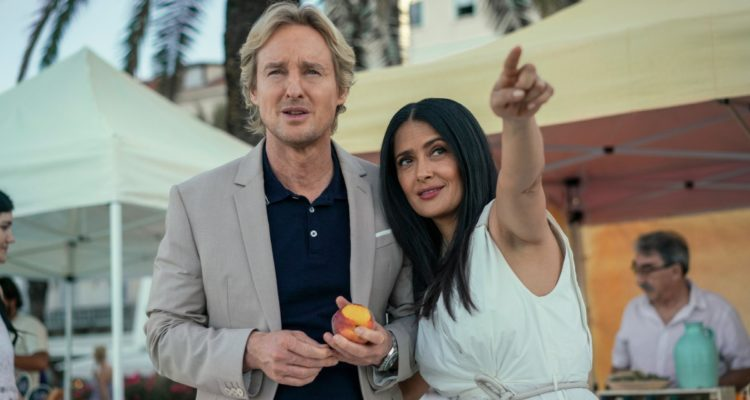 Salma Hayek, Owen Wilson ve filmu  / Bliss