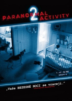 DVD obal filmu Paranormal Activity 2