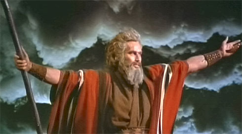 Charlton Heston ve filmu Desatero přikázání / The Ten Commandments